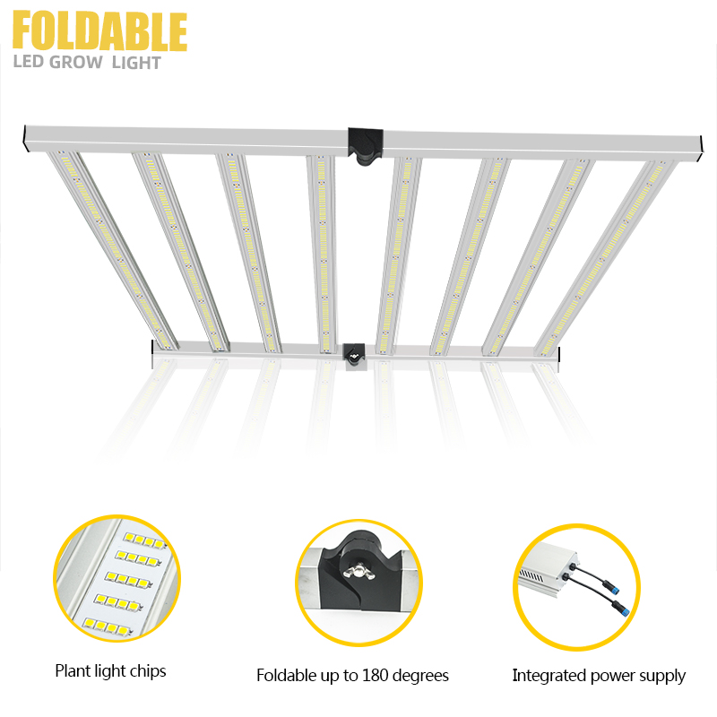 640W Full Spectrum Foldable LED Grow Light