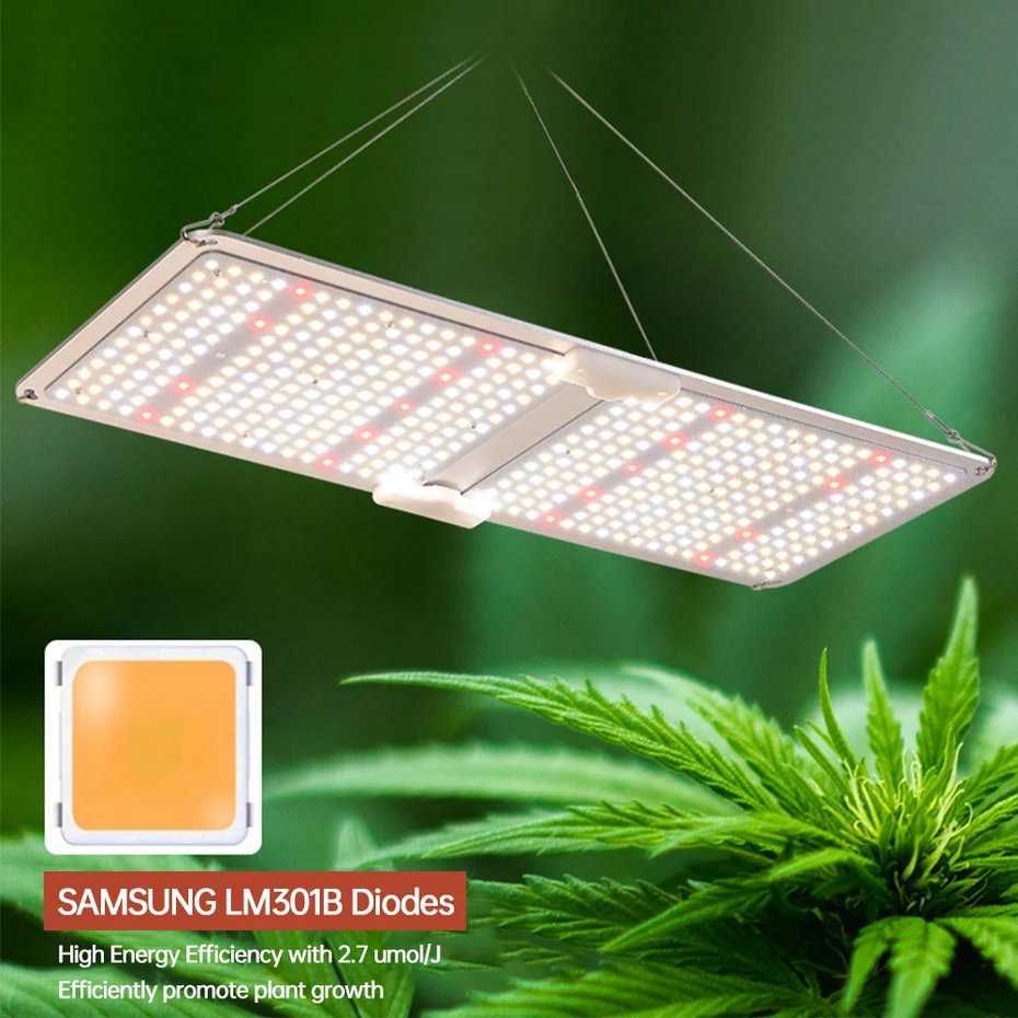 100W Quantum Board LED Grow Light(图1)